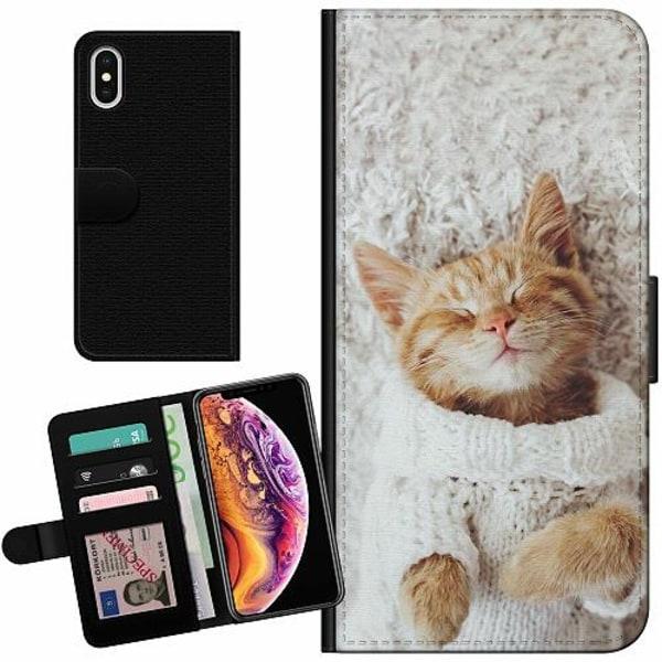 Apple iPhone XS Max Billigt Fodral Katt