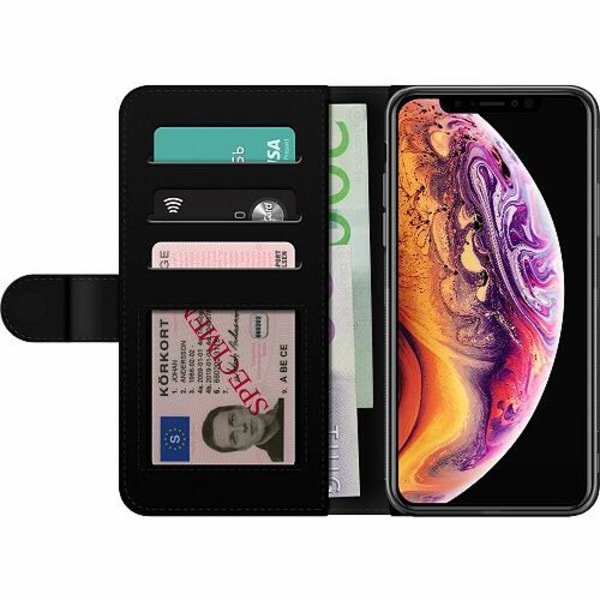 Apple iPhone XS Max Billigt Fodral Moon Wolves