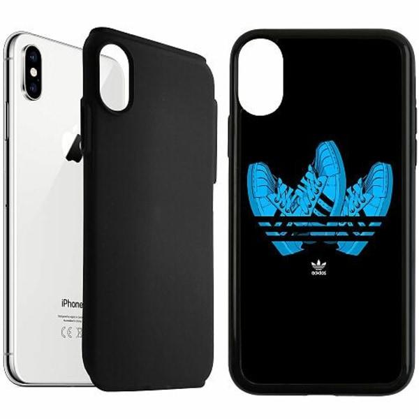 Apple iPhone XS Max Duo Case Svart Adidas