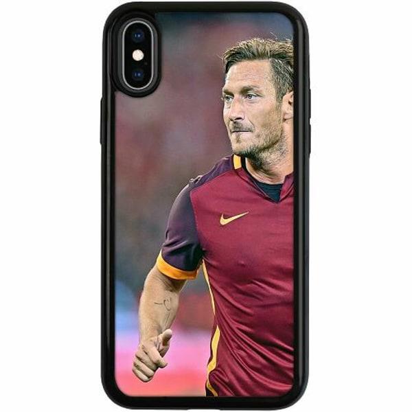 Apple iPhone XS Max Duo Case Svart Francesco Totti
