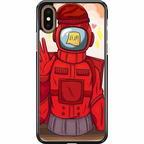 Apple iPhone XS Max Hard Case (Svart) Among Us 2021