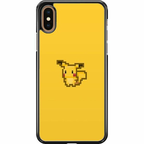 Apple iPhone XS Max Hard Case (Svart) Pixel art Pokémon