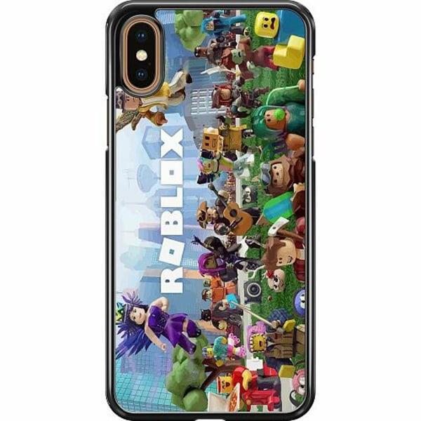 Apple iPhone XS Max Hard Case (Svart) Roblox