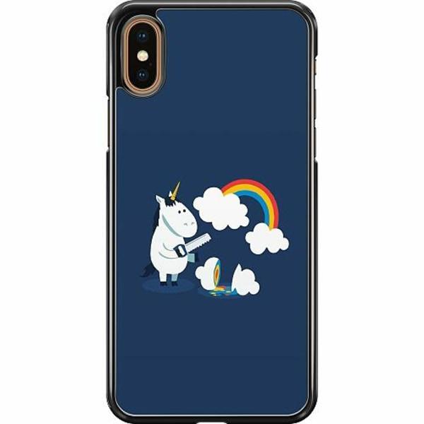 Apple iPhone XS Max Hard Case (Svart) UNICORN