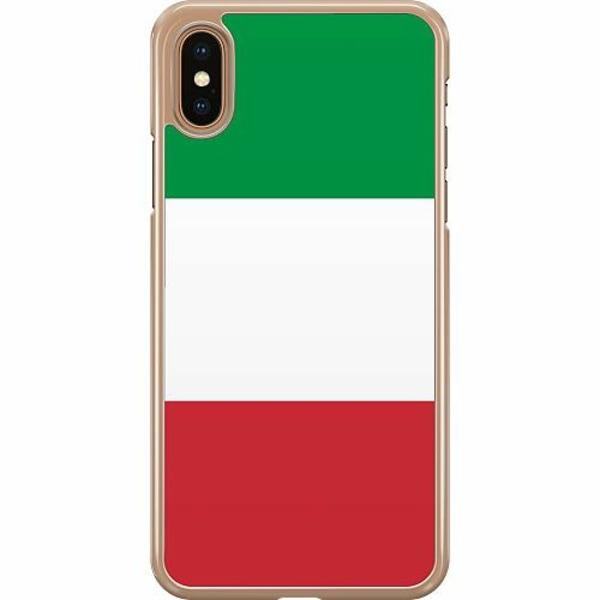 Apple iPhone XS Max Hard Case (Transparent) Italien / Italy