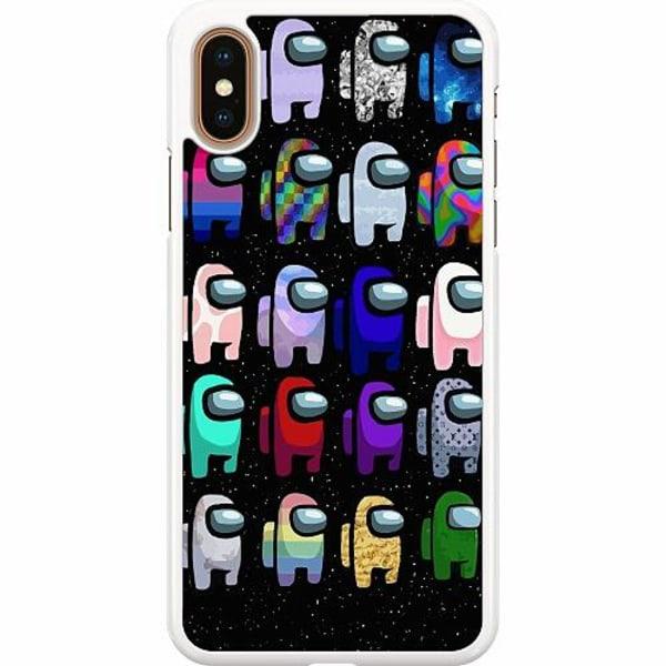 Apple iPhone XS Max Hard Case (Vit) Among Us 2021