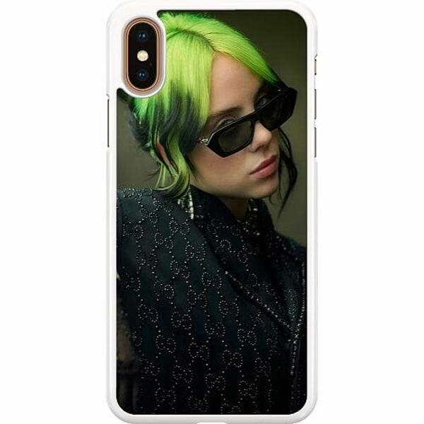 Apple iPhone XS Max Hard Case (Vit) Billie Eilish 2021