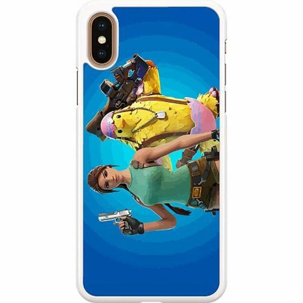 Apple iPhone XS Max Hard Case (Vit) Fortnite 2021
