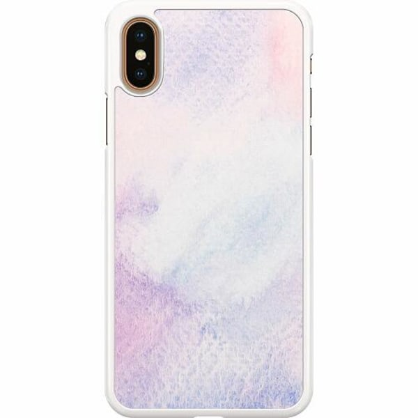Apple iPhone XS Max Hard Case (Vit) Frosted Frost