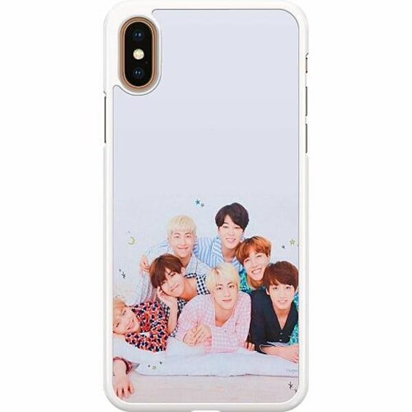 Apple iPhone XS Max Hard Case (Vit) K-POP BTS