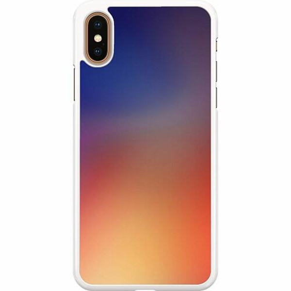 Apple iPhone XS Max Hard Case (Vit) Pattern