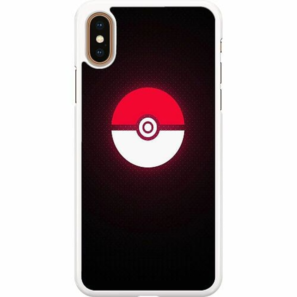 Apple iPhone XS Max Hard Case (Vit) Pokemon