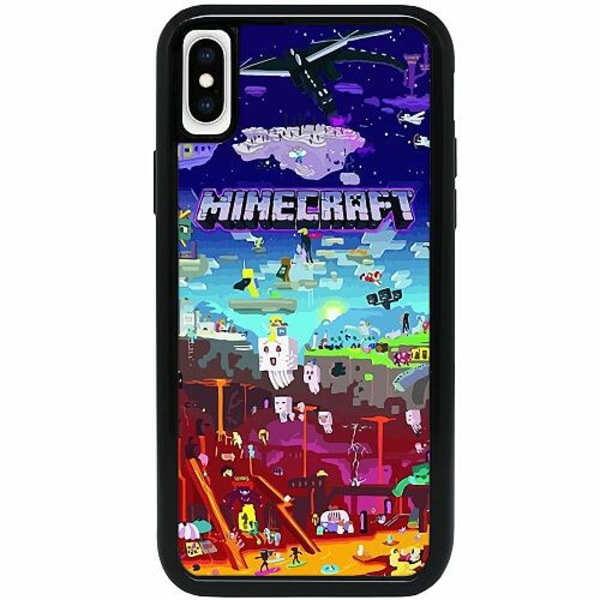 Apple iPhone XS Max Heavy Duty 2IN1 MineCraft