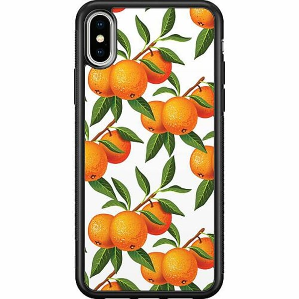 Apple iPhone XS Max Soft Case (Svart) Apelsin