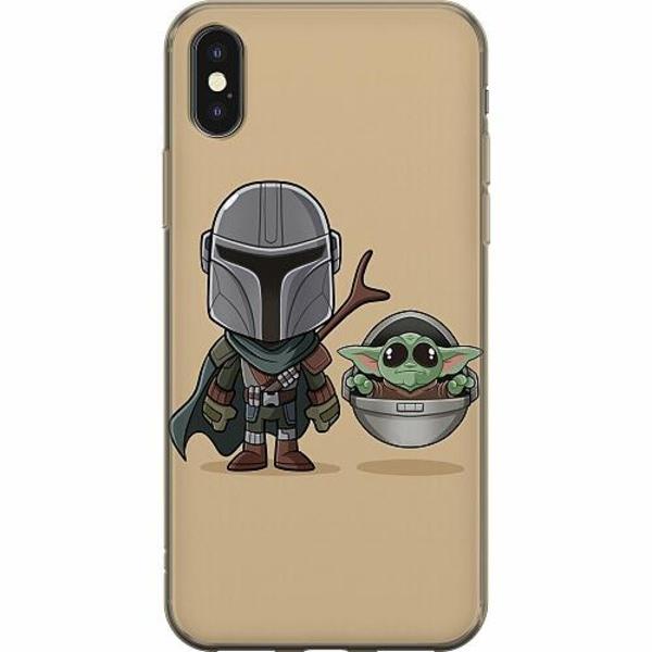 Apple iPhone X / XS Mjukt skal - Baby Yoda