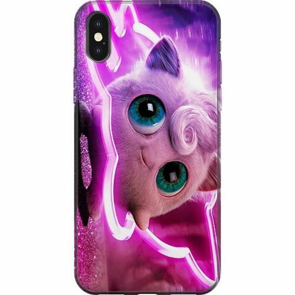 Apple iPhone X / XS Mjukt skal - Detective Pikachu - Jigglypuff