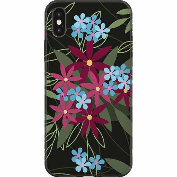 Apple iPhone X / XS Mjukt skal - Flowerz