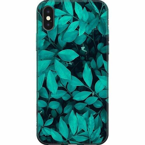 Apple iPhone X / XS Mjukt skal - Green Bliss