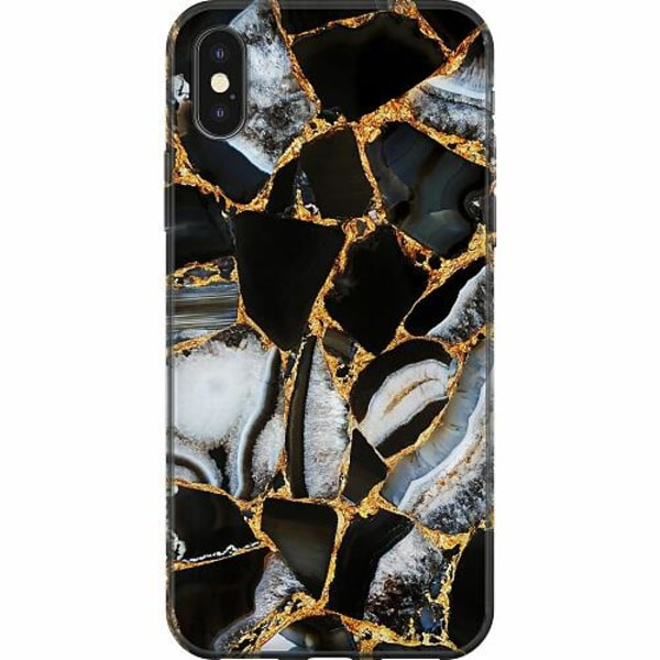 Apple iPhone X / XS Mjukt skal - Onyx