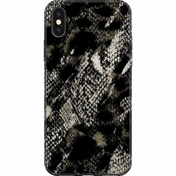 Apple iPhone X / XS Mjukt skal - Snakeskin G