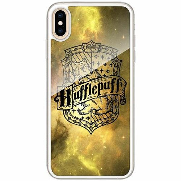 Apple iPhone XS Max Transparent Mobilskal med Glas Harry Potter