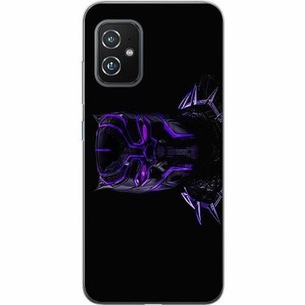 Asus Zenfone 8 TPU Mobilskal Black Panther