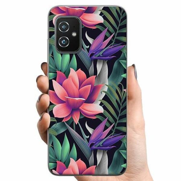 Asus Zenfone 8 TPU Mobilskal Blommor
