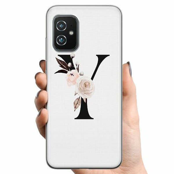 Asus Zenfone 8 TPU Mobilskal Bokstäver