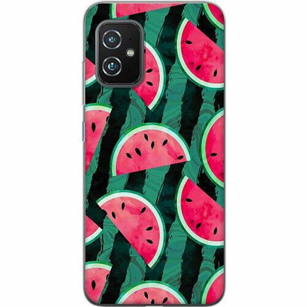 Asus Zenfone 8 TPU Mobilskal Crazy for Watermelon