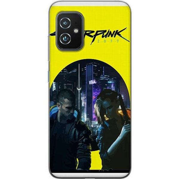 Asus Zenfone 8 TPU Mobilskal Cyberpunk 2077