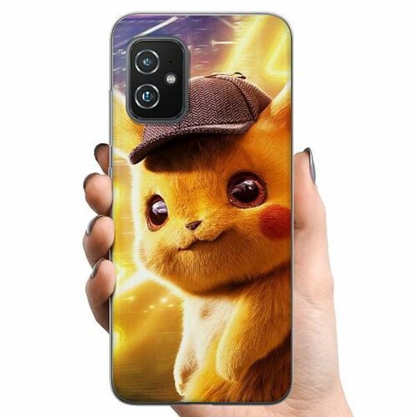 Asus Zenfone 8 TPU Mobilskal Detective Pikachu - Pikachu