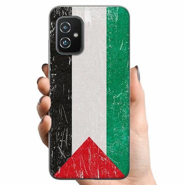 Asus Zenfone 8 TPU Mobilskal Palestina Flagga
