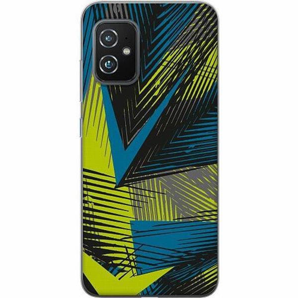 Asus Zenfone 8 TPU Mobilskal Retro x500