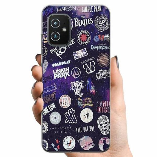 Asus Zenfone 8 TPU Mobilskal Rock