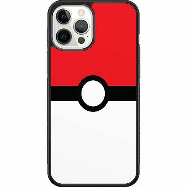 Apple iPhone 12 Pro Max Soft Case (Svart) Pokémon
