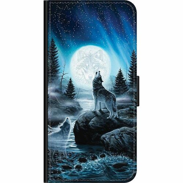 Apple iPhone 8 Wallet Case Wolf / Varg