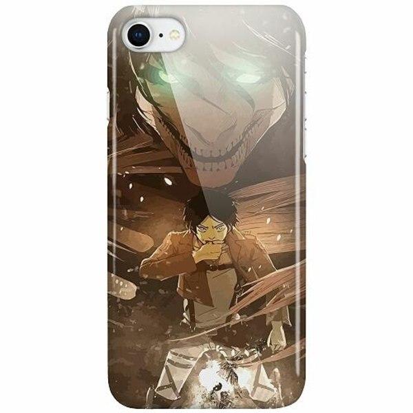 Apple iPhone 8 LUX Mobilskal (Glansig) Attack On Titan