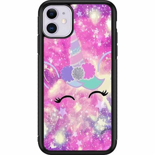 Apple iPhone 11 Soft Case (Svart) UNICORN