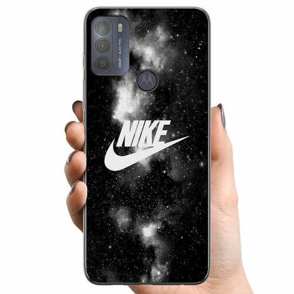 Motorola Moto G50 TPU Mobilskal Nike