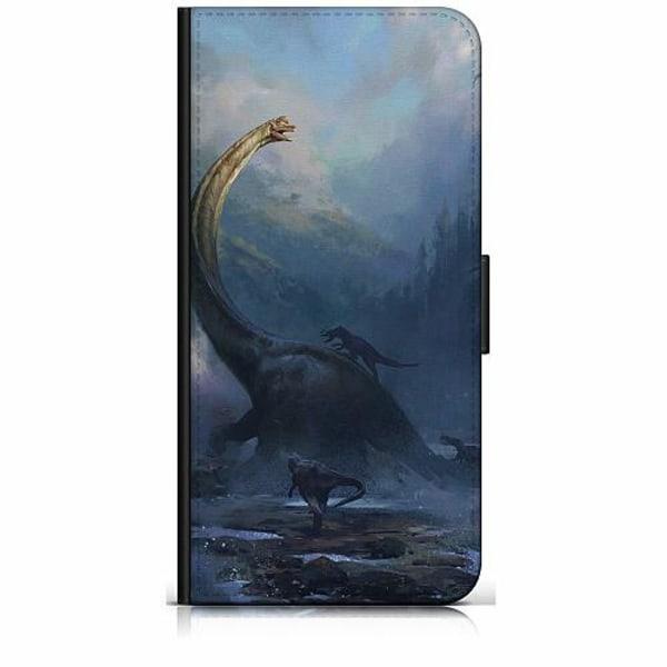 OnePlus 8 Pro Plånboksfodral Dinosaurier