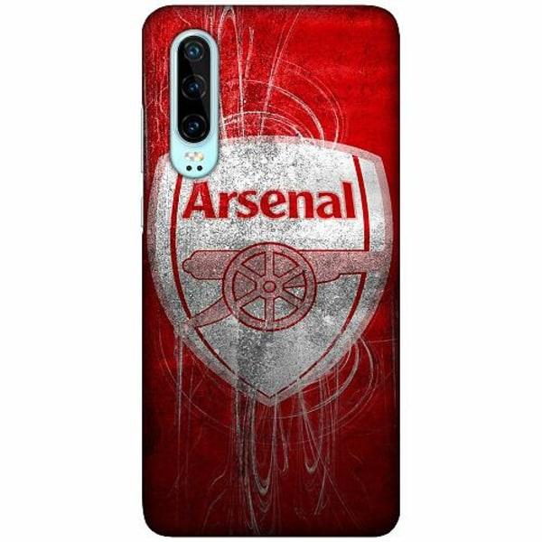 Huawei P30 LUX Mobilskal (Matt) Arsenal