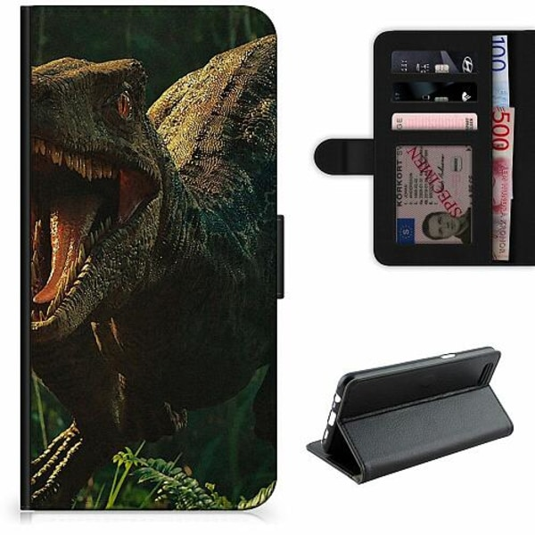 Apple iPhone XR Lyxigt Fodral Dinosaurier
