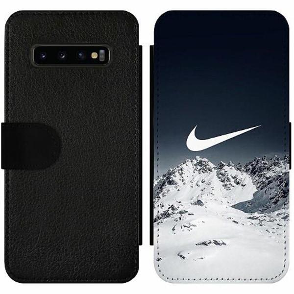 Samsung Galaxy S10 Plus Wallet Slim Case Nike