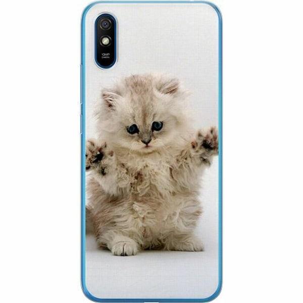 Xiaomi Redmi 9A TPU Mobilskal Katt