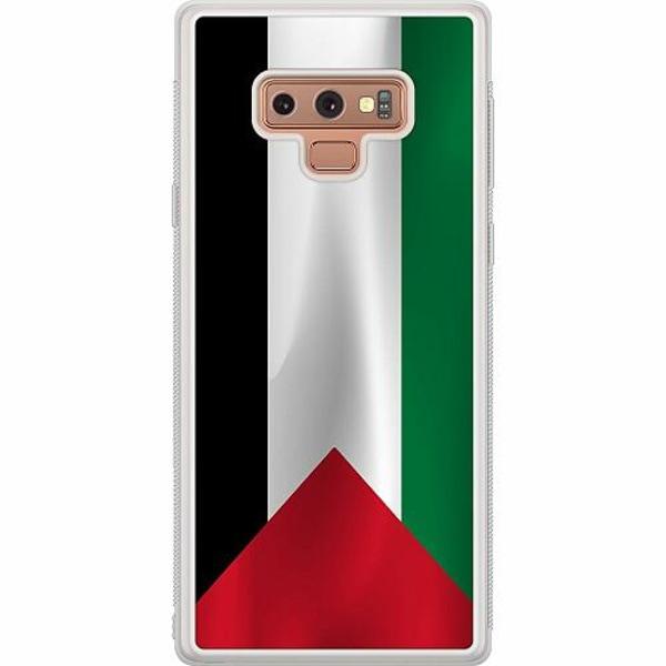 Samsung Galaxy Note 9 Soft Case (Frostad) Palestina Flagga