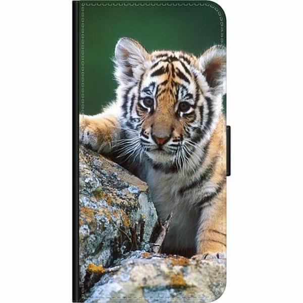 Samsung Galaxy A50 Wallet Case Tiger