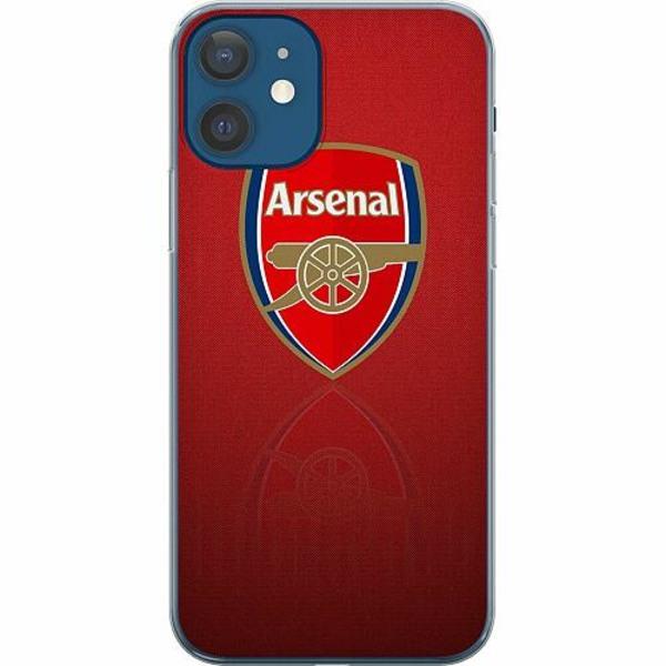 Apple iPhone 12 Mjukt skal - Arsenal