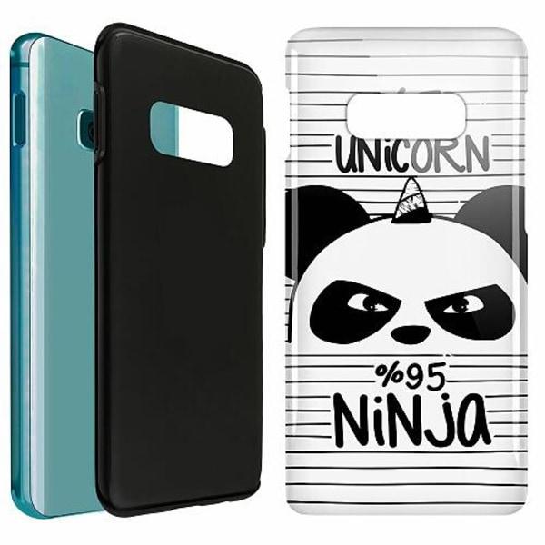 Samsung Galaxy S10e LUX Duo Case (Glansig)  UNICORN