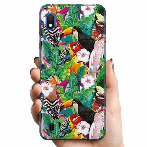 Samsung Galaxy A10 TPU Mobilskal Jungle Drum