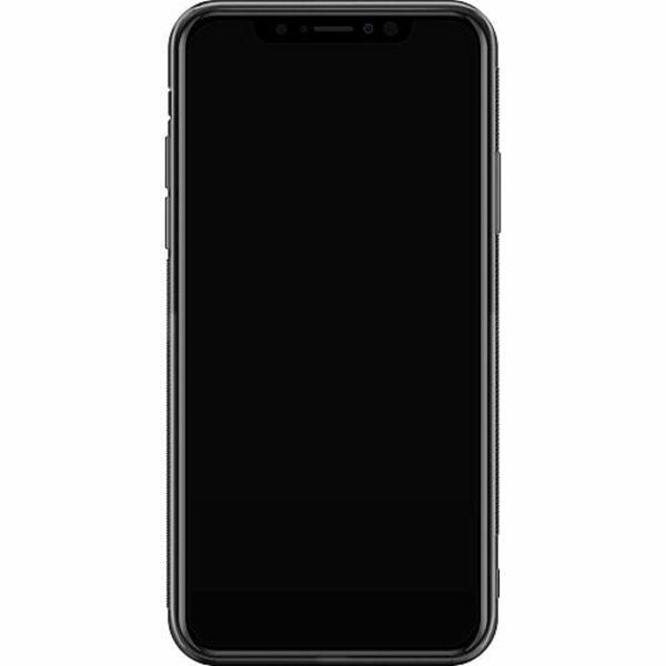 Apple iPhone XS Max Billigt mobilskal - Text